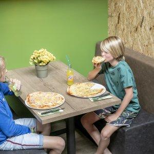 Pizza's bij Skik