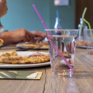 Pizza eten bij Skik