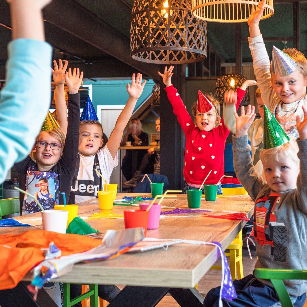 Kinderfeestje in Assen, regio Smilde, Drenthe